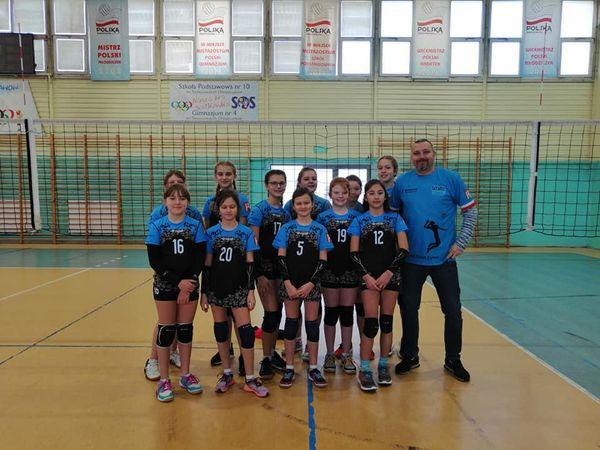 Bardzo dobry początek ligi mini siatkówki województwa łódzkiego.