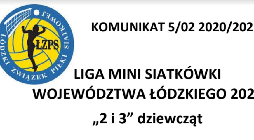 Liga mini siatkówki – aktualne wyniki